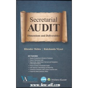 CCH's Secretarial Audit Dimensions and Deliverables by Hitender Mehta & Rakshanda Niyazi [HB]