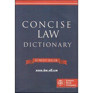 Eastern Book Company's Concise Law Dictionary by Sumeet Malik