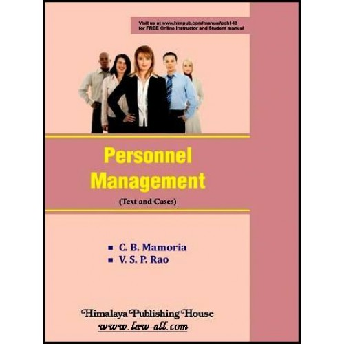 Himalaya's Personal Management (Text & Cases) by C. B. Memoria and V. S. P. Rao