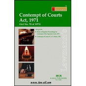 Lawmann's Contempt of Courts Act, 1971 by Kamal Publishers