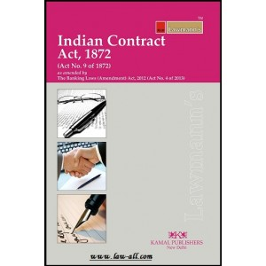Lawmann's Indian Contract Act, 1872 by Kamal Publisher