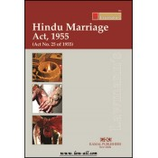 Lawmann's Hindu Marriage Act, Act, 1955 by Kamal Publishers