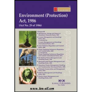 Lawmann's Environment (Protection) Act, 1986 by Kamal Publisher