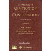 Lexisnexis's Law Relating to Arbitration & Conciliation [HB] by Dr. P. C. Markanda