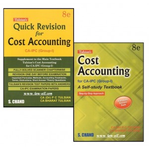 S. Chand's Cost Accounting with Quick Revision for CA Inter Group - I by Dr. P. C. Tulsian